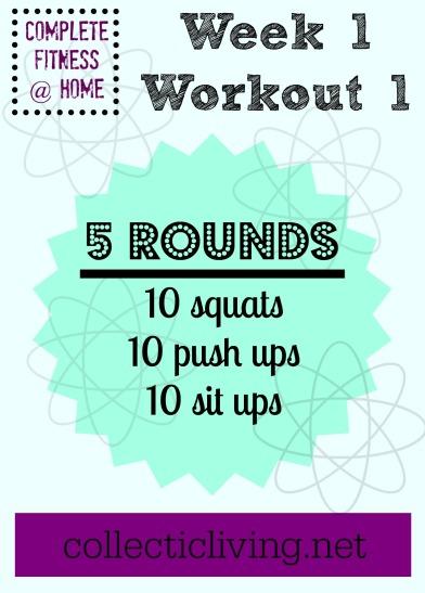 Week 1 Workout 1