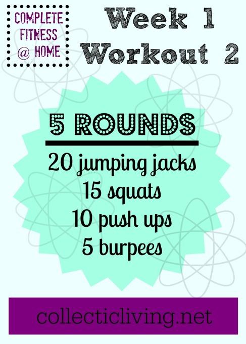 Week 1 Workout 2