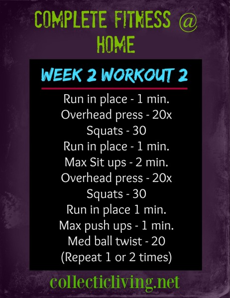 Week 2 Workout 2