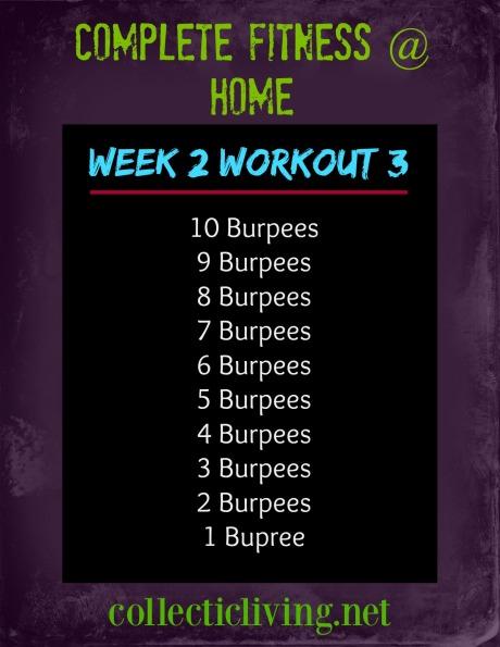 Week 2 Workout 3