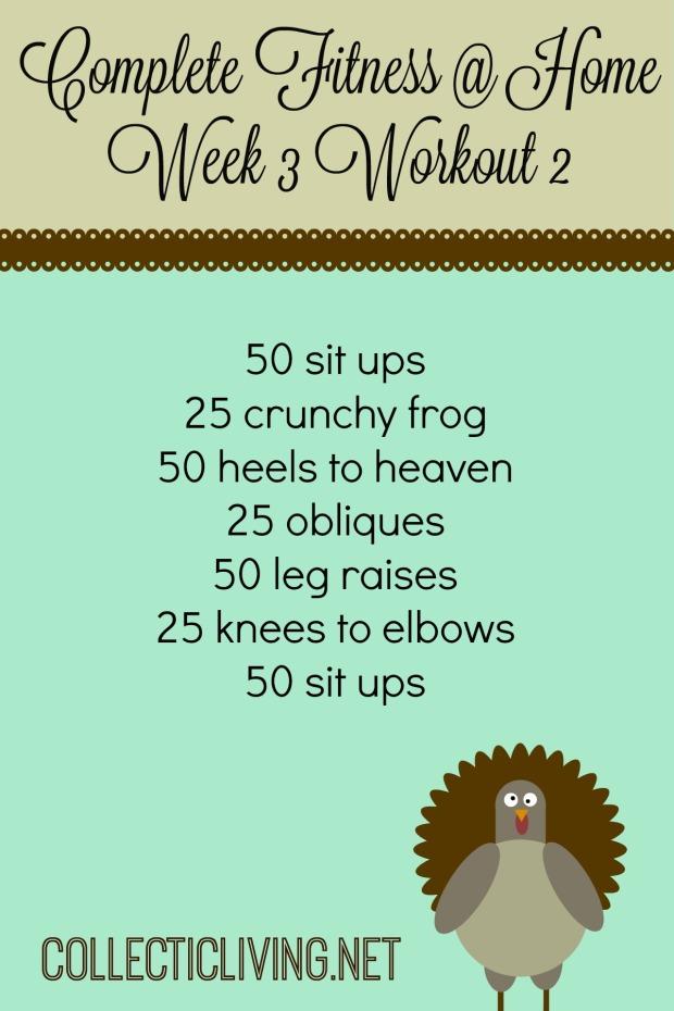 Week 3 Workout 2