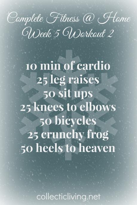 Week 5 Workout 2
